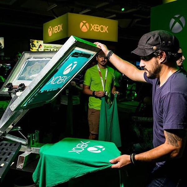 Xbox Live Scren Printing