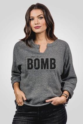 9902F2 Champ Remix Sweatshirt in Eco Grey